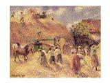 The Harvest, 1883 Art Print