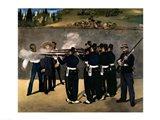 The Execution of the Emperor Maximilian Art Print