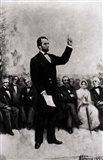 Lincoln's Address at Gettysburg, 1895 Art Print