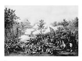 The Death of General James B. Mcpherson at The Battle of Atlanta Art Print