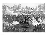 The Battle of Cedar Creek Art Print