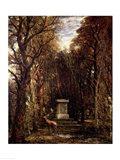 The Cenotaph to Reynold's Memory, Coleorton, c.1833 Art Print
