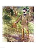 Portrait of Emile-Auguste Carolus-Duran Art Print