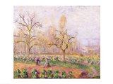 Orchard at Pontoise, 1878 Art Print