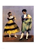 Spanish Dancers, 1879 Art Print