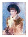 Suzanne (1869-99) Art Print