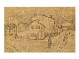 The Artist's House in Arles Art Print