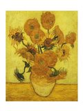 Sunflowers, 1889 Art Print