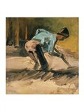 Man at Work, c.1883 Art Print