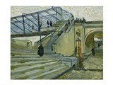 The Bridge at Trinquetaille Art Print