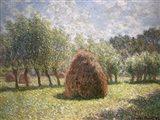 Haystacks at Giverny, 1893 Art Print