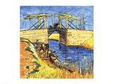 Le Pont de Langlois a Arles, 1888 Art Print