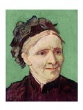 Portrait of the Artist's Mother, 1888 Art Print