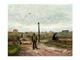 The Outskirts of Paris, 1886 Art Print