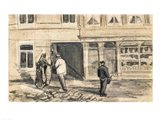 The Bakery in de Geest, 1882 Art Print
