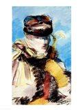 Mery Laurent in a Veil Art Print