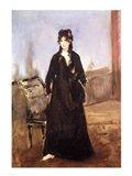 Portrait of Berthe Morisot Art Print