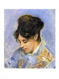 Portrait of Madame Claude Monet, 1872 Art Print