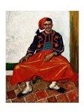 The Zouave, 1888 Art Print