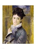 Portrait of Madame Claude Monet Art Print