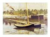 Study of a boat at Argenteuil, 1874 Art Print
