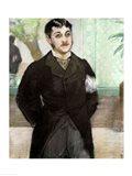 Portrait of M. Gauthier-Lathuille Art Print