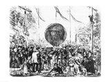 The Balloon, 1862 Art Print