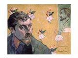 Self Portrait, Les Miserables,1888 Art Print