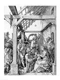 The Adoration of the Magi, 1511 Art Print