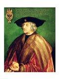 Emperor Maximilian I Art Print