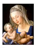 Virgin and child holding a half-eaten pear, 1512 Art Print