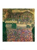 Country House by the Attersee, c.1914 Art Print
