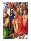 Landauer Altarpiece: King David, 1511, Detail Art Print