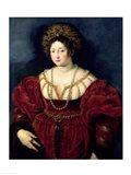 Posthumous portrait of Isabella d'Este Art Print