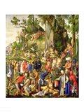 Martyrdom of the Ten Thousand, 1508 Art Print