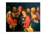 Christ, aged twelve, among the scribes Art Print