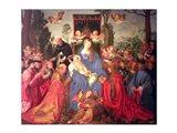 Garland of Roses Altarpiece, 1600 Art Print