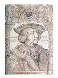 Maximilian I, Emperor of Germany Art Print