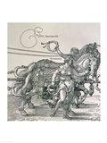Triumphal Chariot of Emperor Maximilian I of Germany: detail Art Print