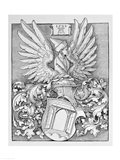 Coat of Arms of the Durer Family Art Print