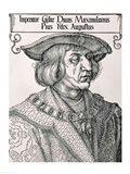Emperor Maximilian I of Germany Art Print