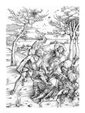 Hercules Killing the Molionides Art Print