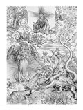 Apocalyptical scene, from the 'Apocalypse' Art Print