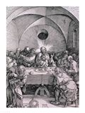 The Last Supper from the 'Great Passion' Art Print