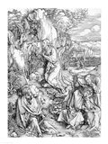 Agony in the Garden from the 'Great Passion' Art Print