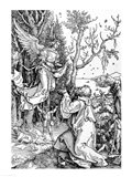 Joachim and the Angel from the 'Life of the Virgin' Art Print