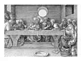 The Last Supper, pub. 1523 Art Print
