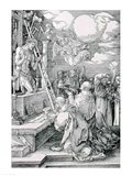 The Mass of St. Gregory: Christ appearing as the Man of Sorrows Art Print