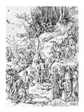 Martyrdom of the Ten Thousand Christians on Mt. Ararat Art Print