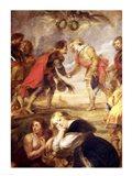 The Meeting of Ferdinand II Art Print